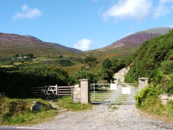 Access to  Brandy Pad and Mournes only 2 minutes from Hostel and Campsites